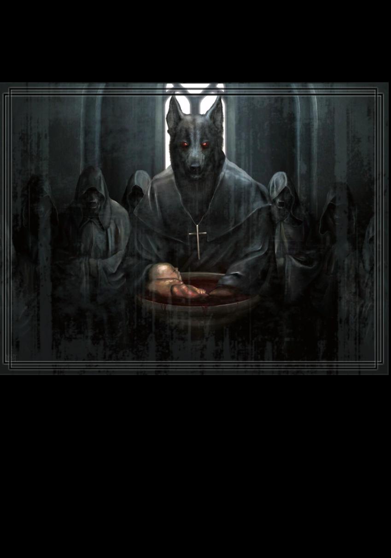 maglietta Black wolf