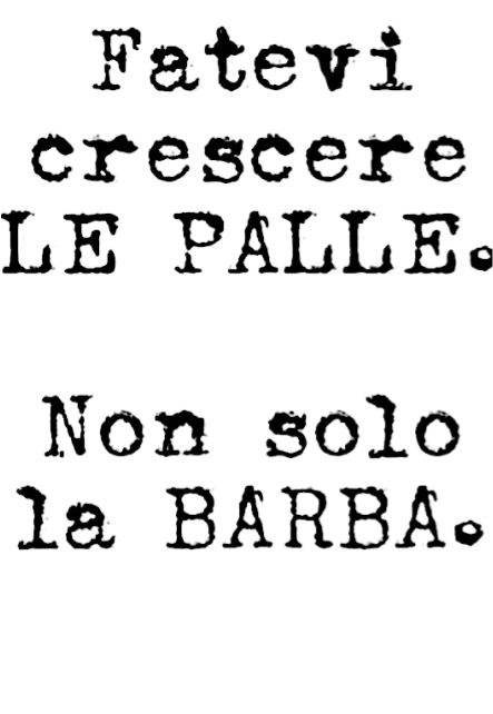 maglietta #PALLE