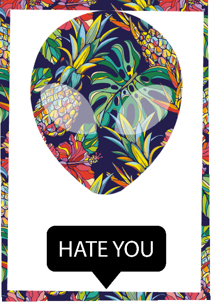 maglietta Hate