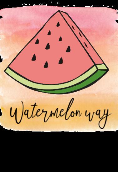 maglietta watermelon n.1