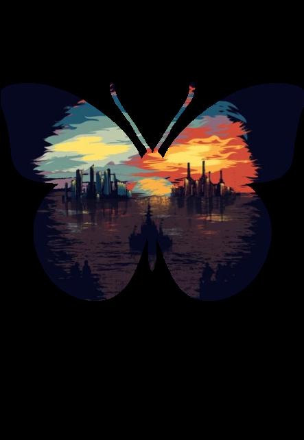 maglietta Mariposa