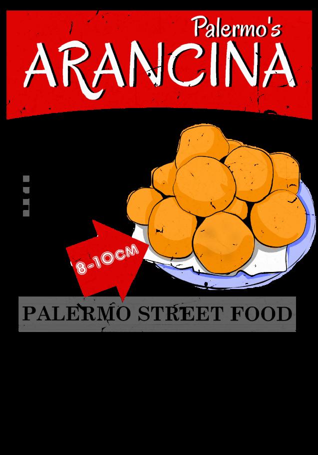 maglietta Palermo's Arancina