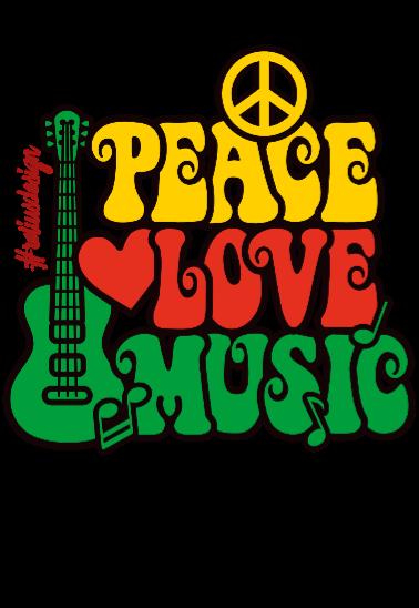 maglietta #pace #amore #musica