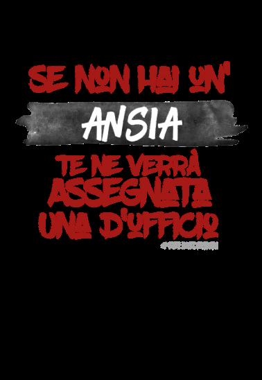 maglietta #Ansia d'ufficio!