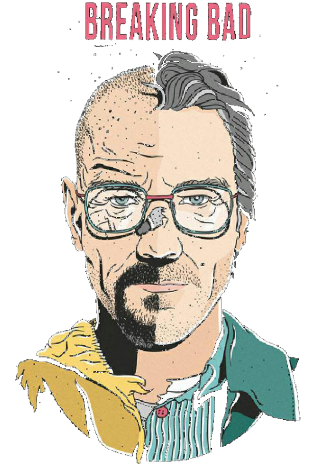maglietta Walter White | Breaking Bad