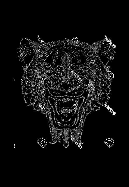 maglietta T-shirt: 'Tiger'