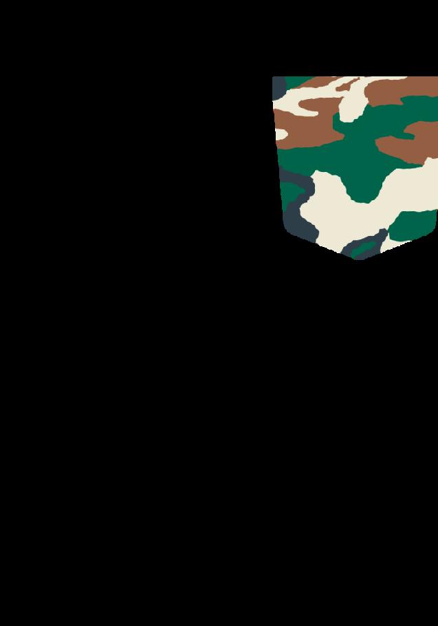 maglietta Taschino military