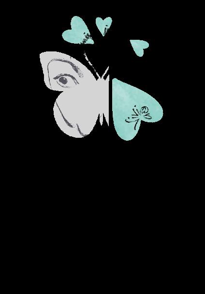 maglietta Dalí butterfly