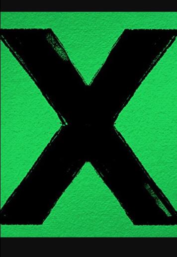 maglietta Cover X, Ed Sheeran.