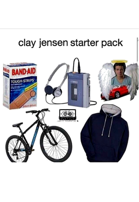 maglietta Clay Jensen starter pack