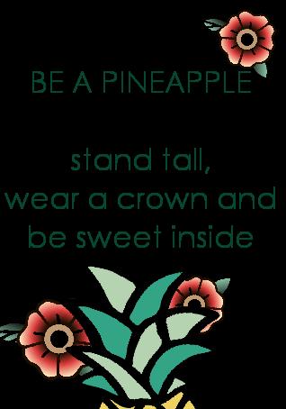 maglietta pineapple queens??