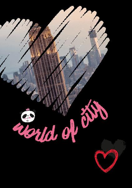 maglietta City love