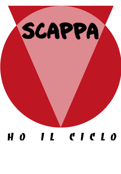maglietta Scappa, ho il ciclo