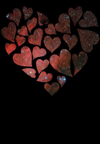 maglietta Galaxy Love