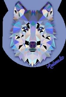 maglietta #Animalz # Wolf