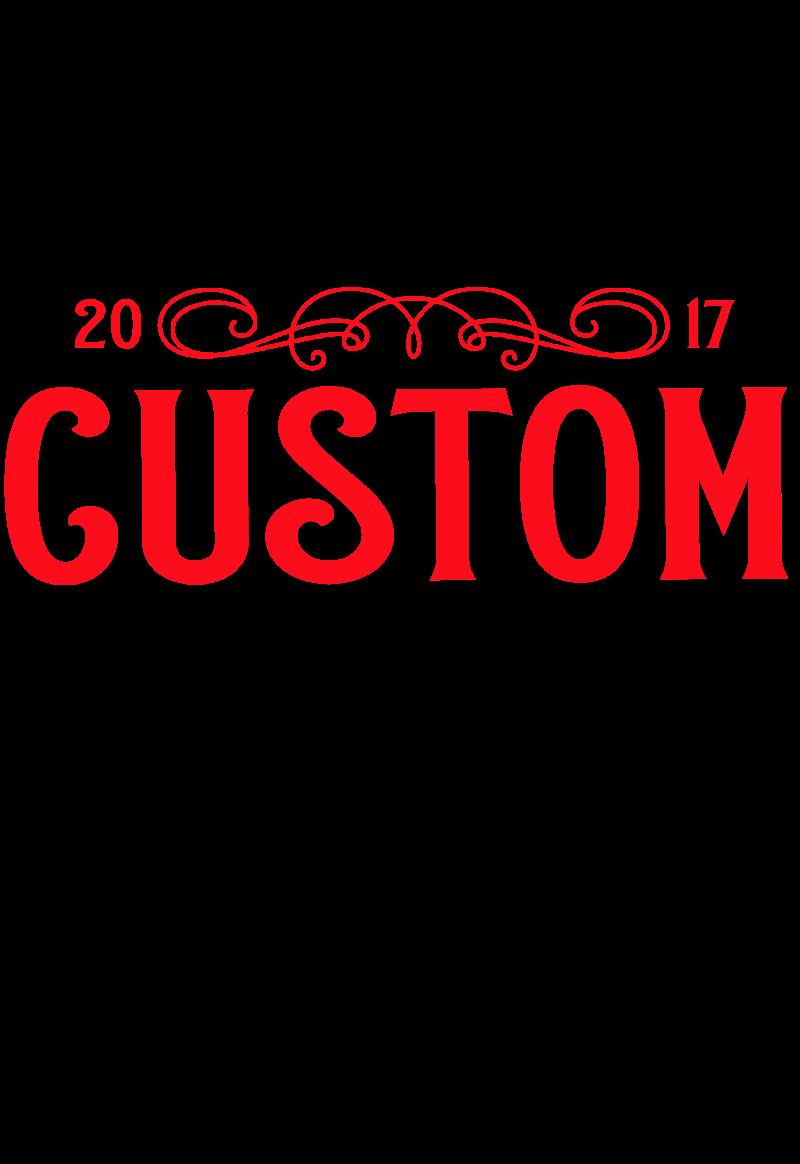 maglietta brand CUSTOM #colorRed