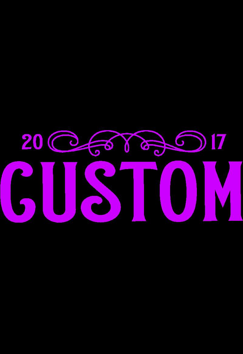 maglietta brand CUSTOM #colorPurple