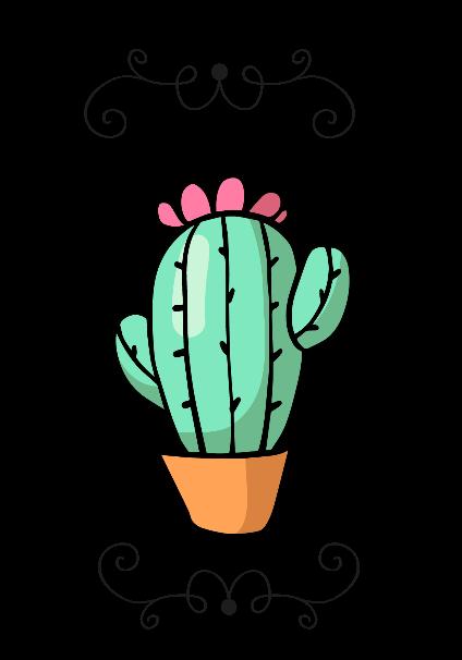 maglietta Cactus Cover
