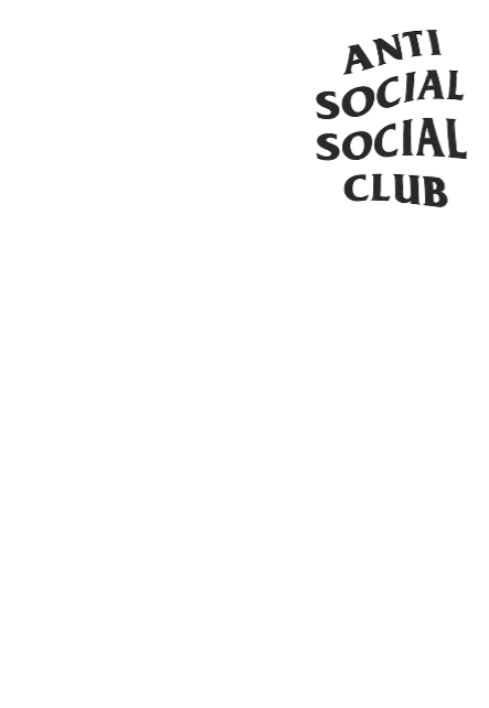 maglietta ANTI SOCIAL SOCIAL CLUB