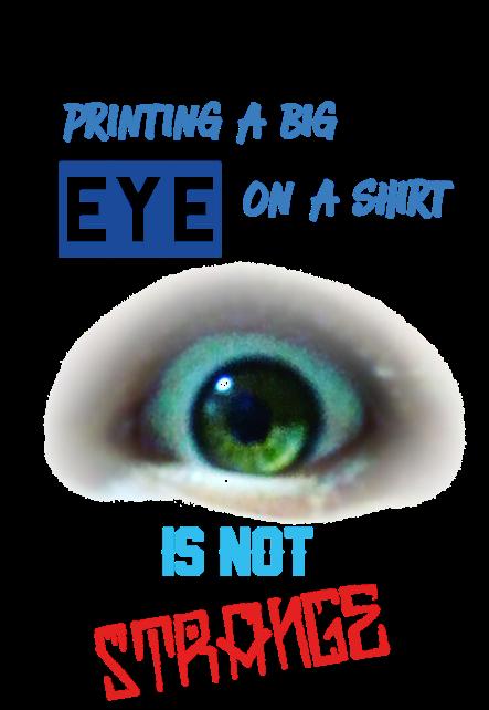 maglietta eyetshirt