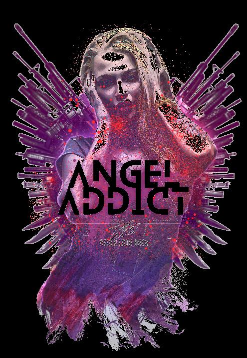 maglietta ANGEL ADDICT