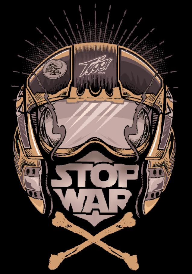 maglietta STOP WAR