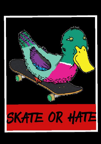 maglietta Skate-Duck