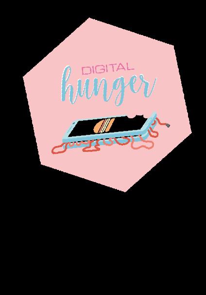 maglietta digital hunger