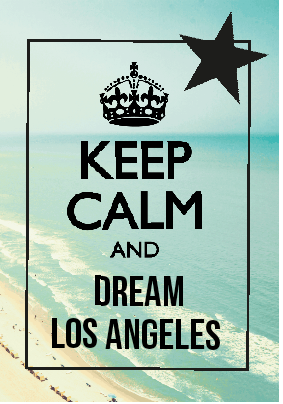 maglietta Los Angeles love