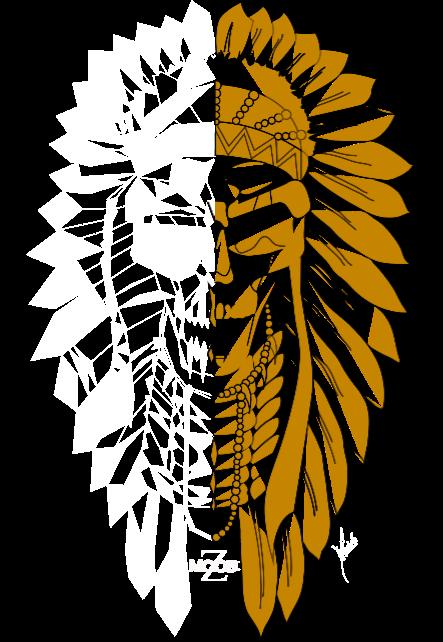 maglietta Gold Indian Rhapsody