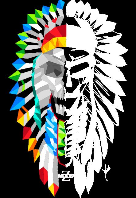 maglietta Paint Indian Rhapsody