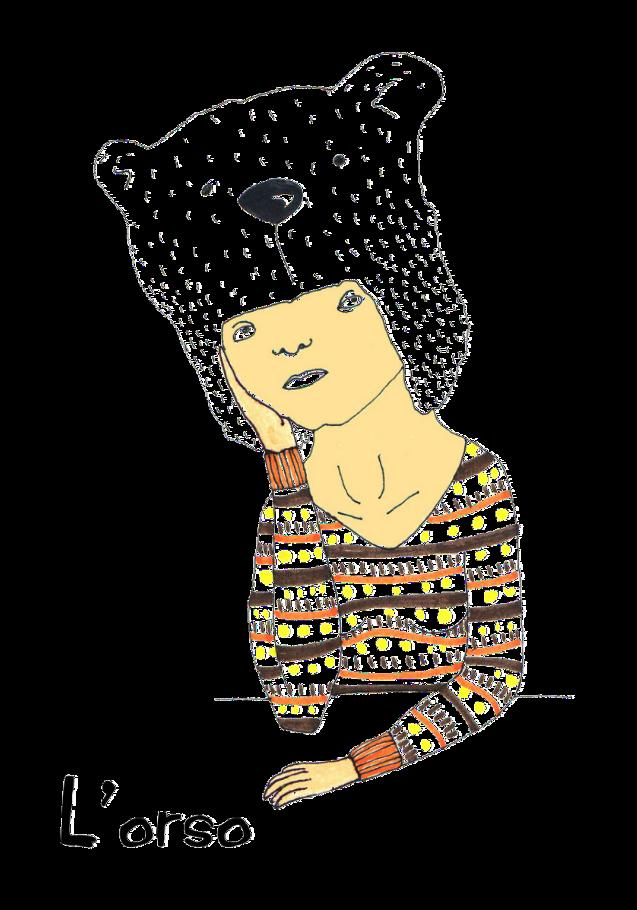 maglietta L'Orso