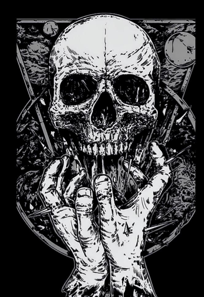 maglietta skullshirt
