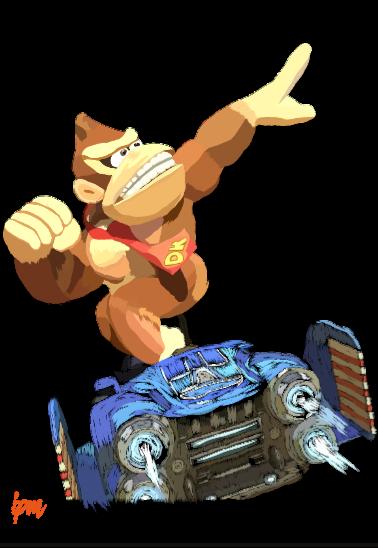 maglietta maglietta Donkey Kong