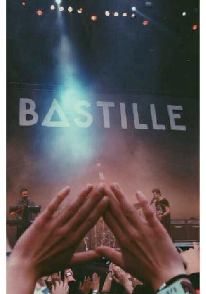 maglietta Bastille