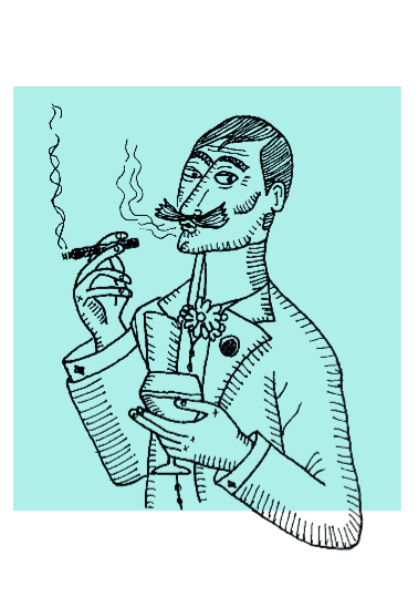 maglietta Smoking Man