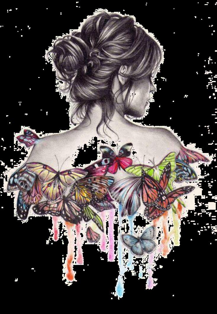 maglietta #butterfly #girl