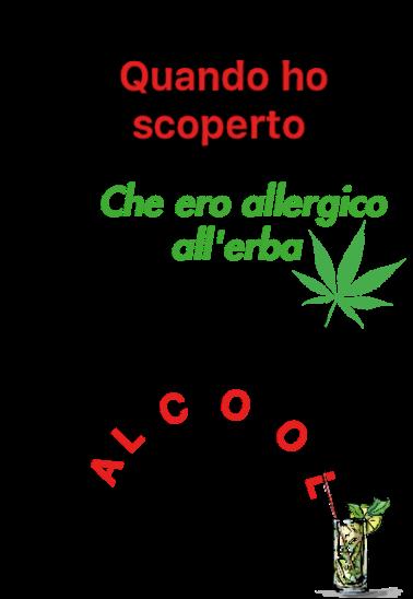 maglietta Alcool