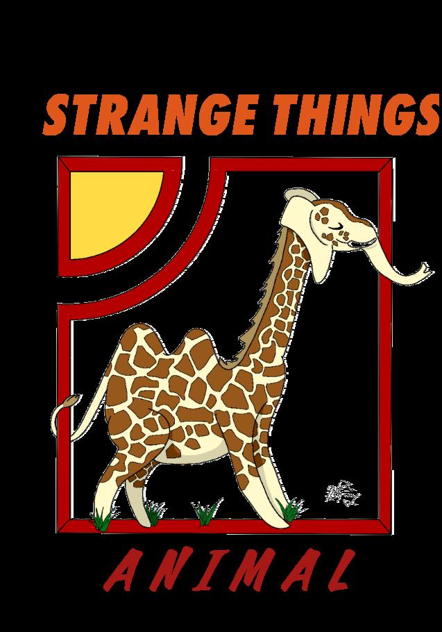 maglietta Giraffante