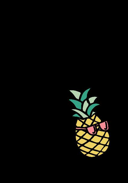 maglietta pineapple don't pen