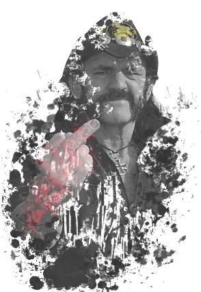 maglietta Lemmy Kilmister >>> 1945-2015