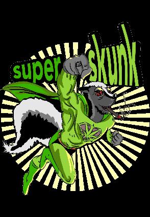 maglietta Tshirt Superskunk