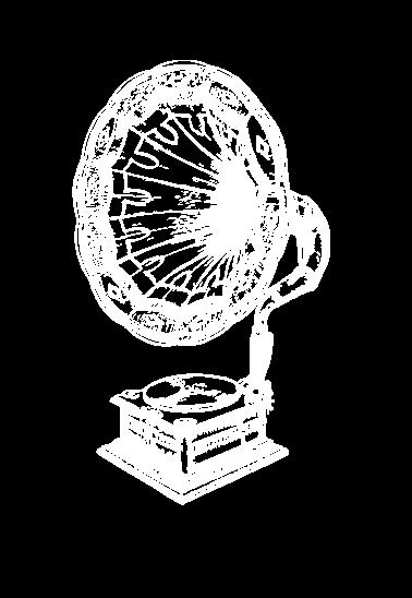 maglietta Old school gramophone