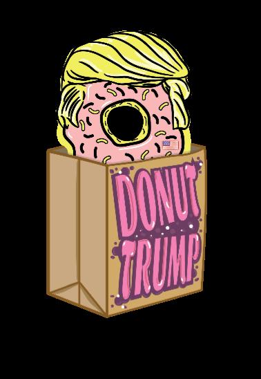 maglietta Donut Trump
