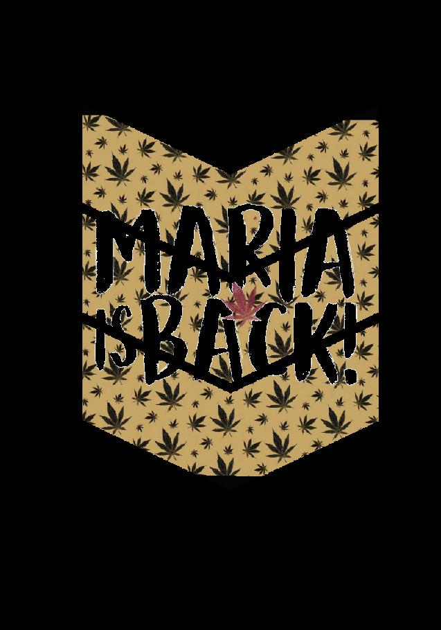 maglietta Maria is back!
