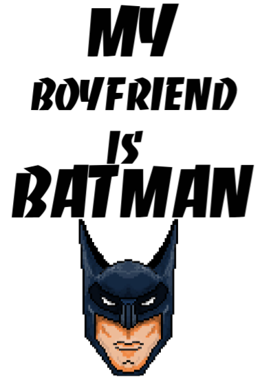 maglietta BATMAN boyfriend