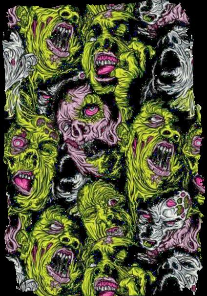 maglietta zombieees