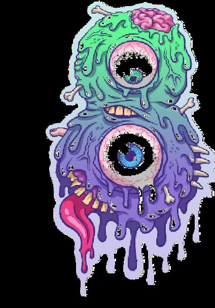 maglietta icecream monster