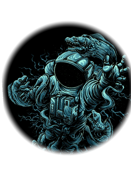 maglietta space/ocean