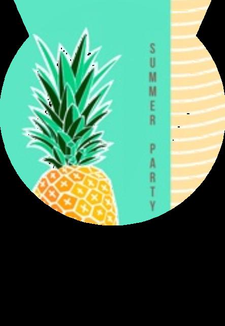 maglietta Summer ananas